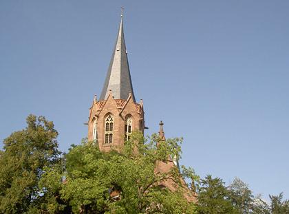ev. Christuskirche Karlsruhe