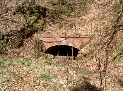 Stollenmundloch der ehem. Grube Nordfeld