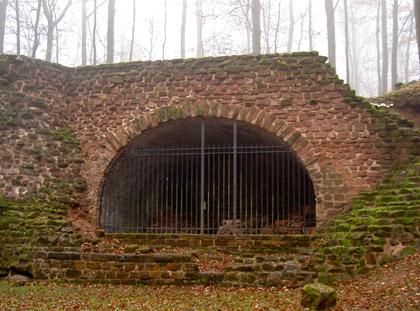 Ruine der Orangerie