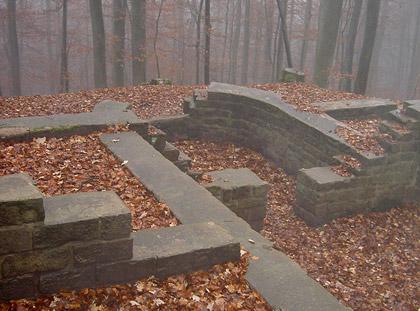 Überreste des sog. Tschifflik-Pavillons