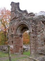 Klosterruine Wörschweiler, Portal