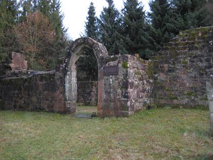 Kapellenruine Meisenbach