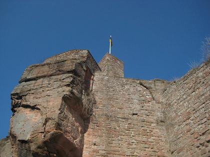 Burg Nanstein bei Landstuhl