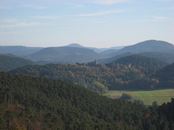Ausblick vom Römerfelsen