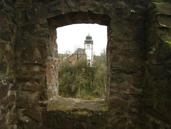 Blick auf die Probsteikirche St.Remigius