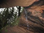 Kleine Wasserfälle im Riesenlochklamm