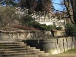 Italienische Treppenanlage, Tullnau