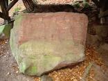 Quellheiligtum Heidenfels: In Felsbrocken eingemeißeltes Relief