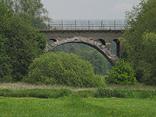 Brücke über den Glan kurz vorm Elschbacher Tunnel