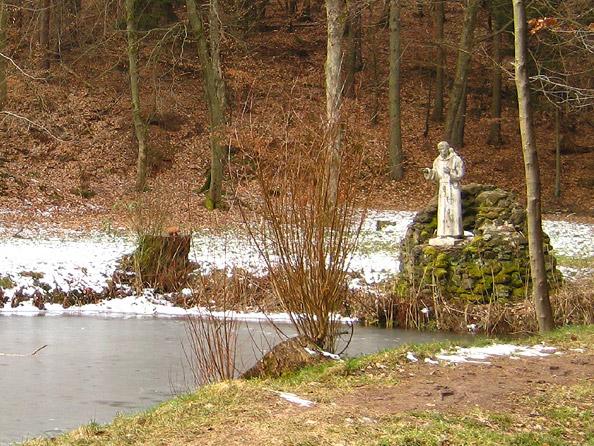 Weiher bei der Lourdes-Grotte