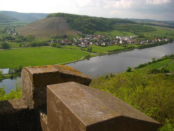 Blick vom Bismarckturm Schoden