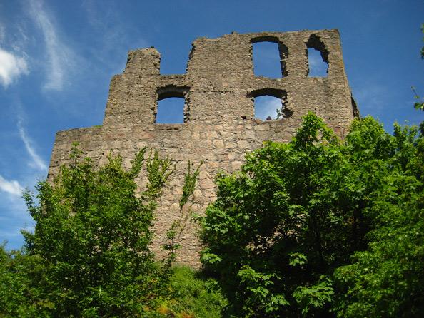Burgruine Falkenstein beim Donnersberg (Pfalz)