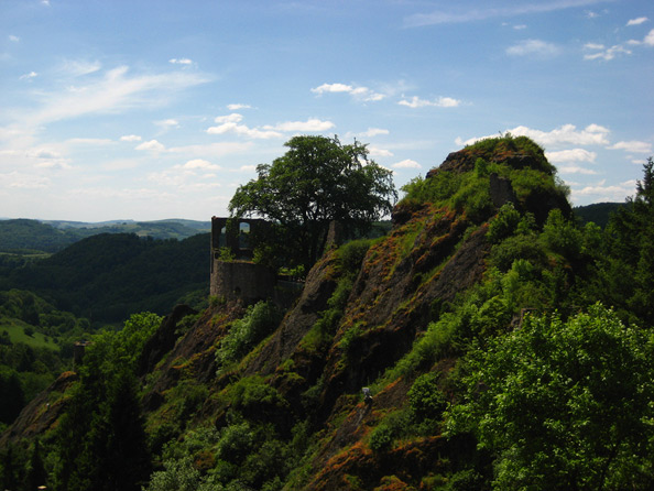 Burgruine Falkenstein beim Donnersberg (Pfalz