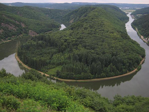 Große Saarschleife (Aussichtpunkt Cloef)