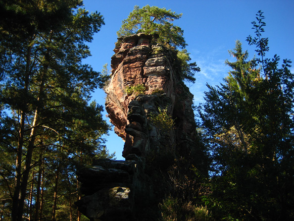 Retschelfelsen (Retschelgrat)
