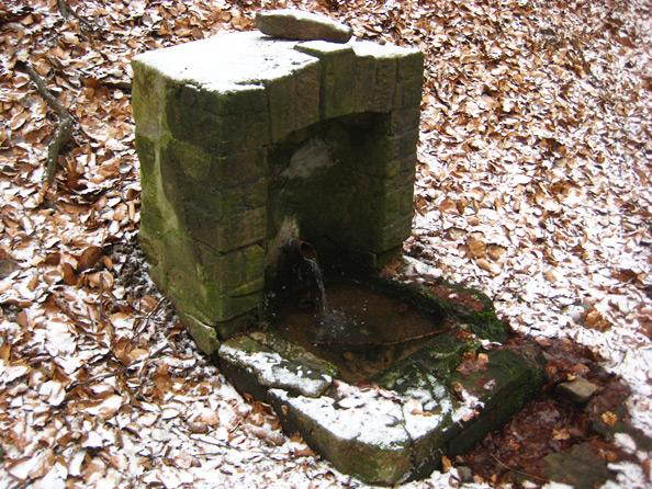 Bergmannsbrunnen bei  St. Wendel