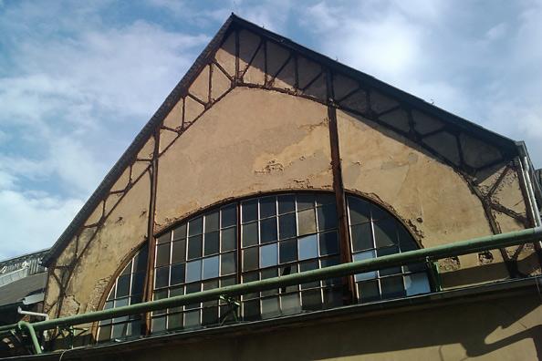Kokereigasmaschinenzentrale Heinitz