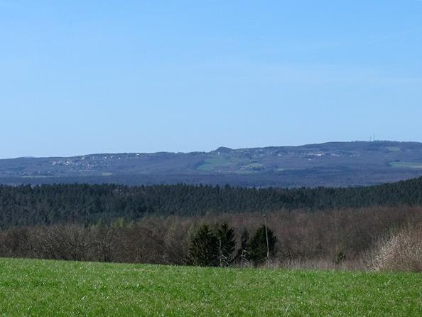 Panorama in der Nähe