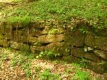 Schäfersgrunderklamm: Mauerreste