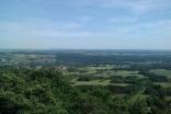Blick vom Litermont-Gipfel