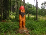 Holzskulptur bei Urexweiler
