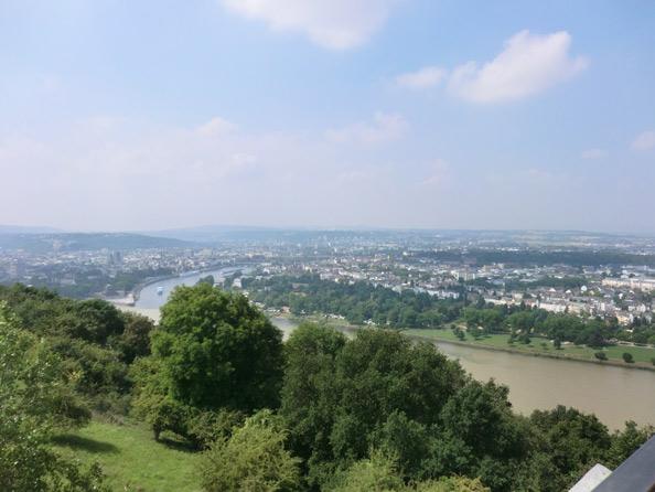 Aussichtsplattform Buga Koblenz