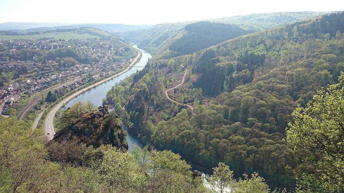 Vogelfelsen Saarhölzbach