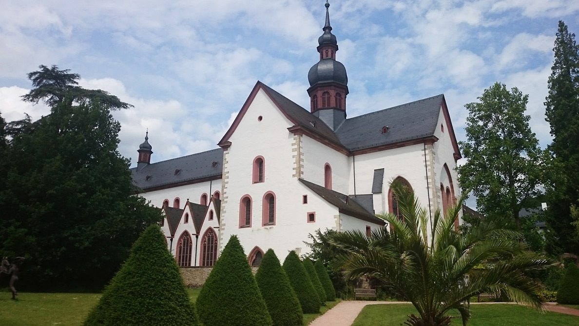 Geocaching Station: Kloster Eberbach