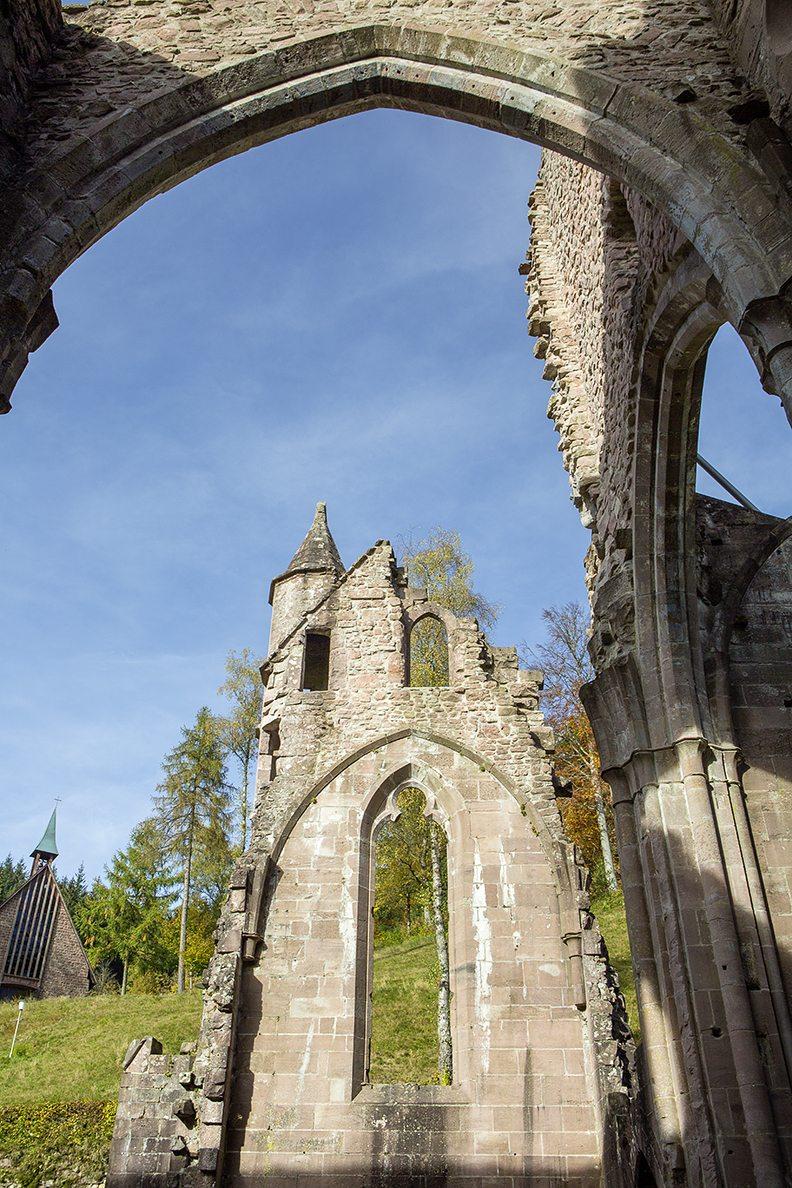 Klosterruine Allerheiligen, Foto Dahuu