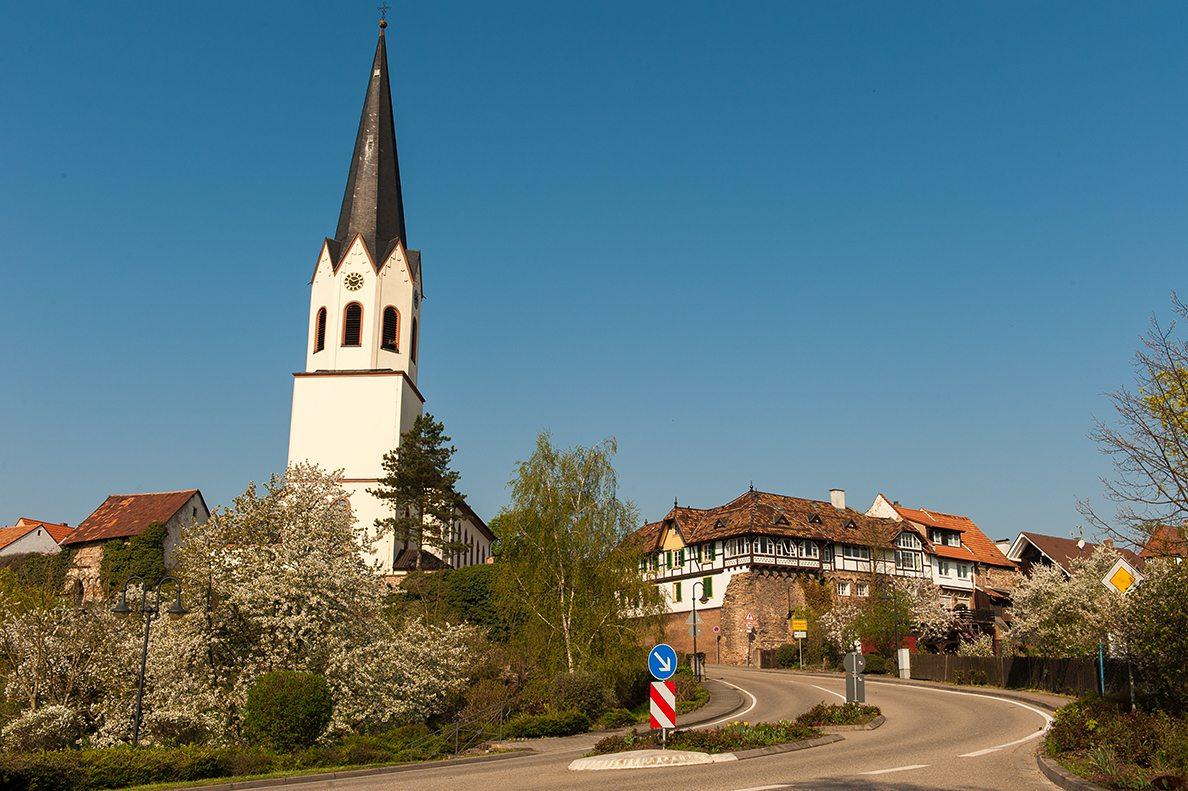 Jockgrim: Pfarrkirche St. Dionysius