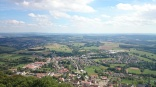 Aussicht vom Schaumbergturm