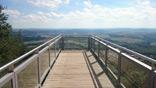 Aussichtsplattform bei der Schaumberg-Alm