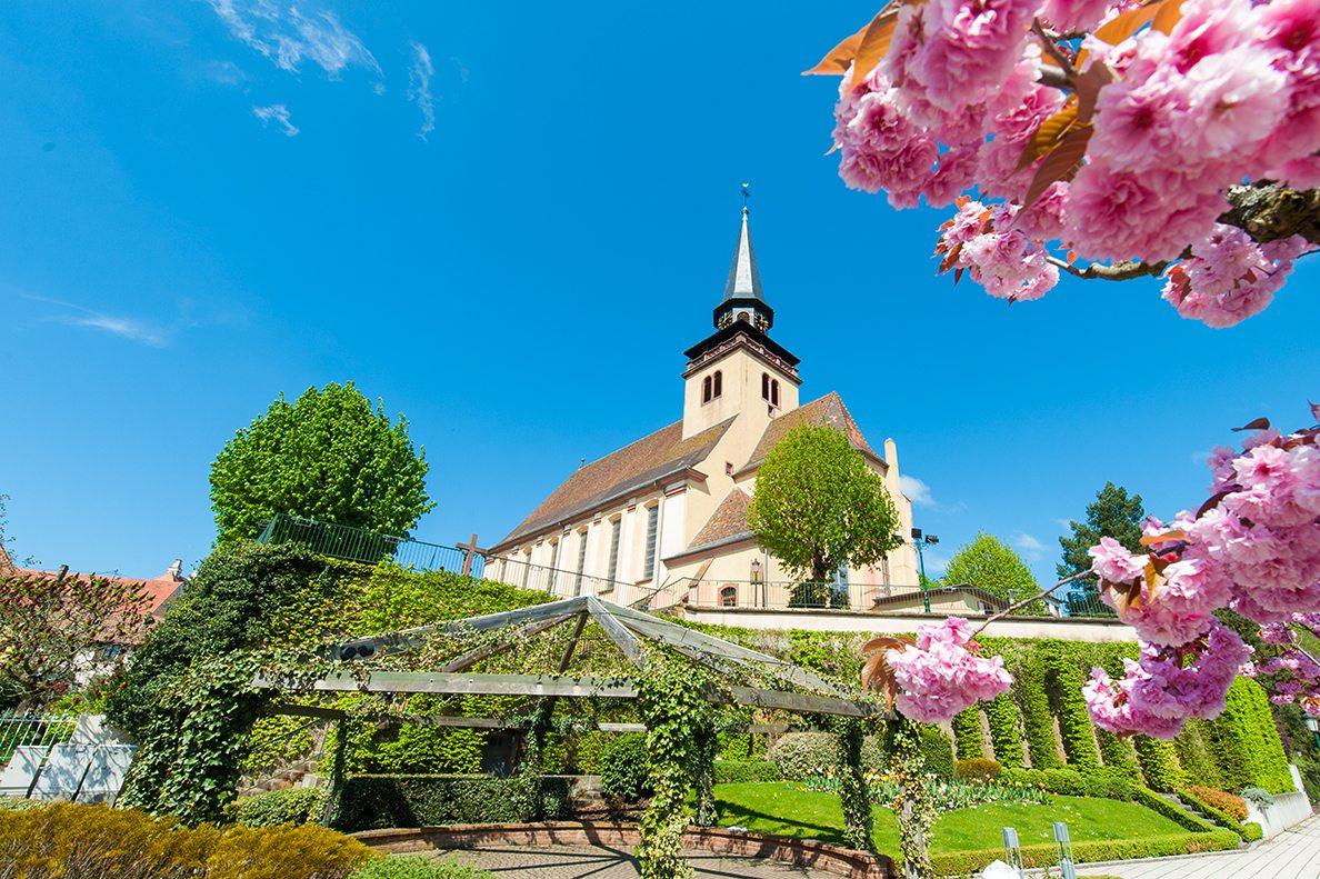 Dreifaltigkeitskirche im Zentrum