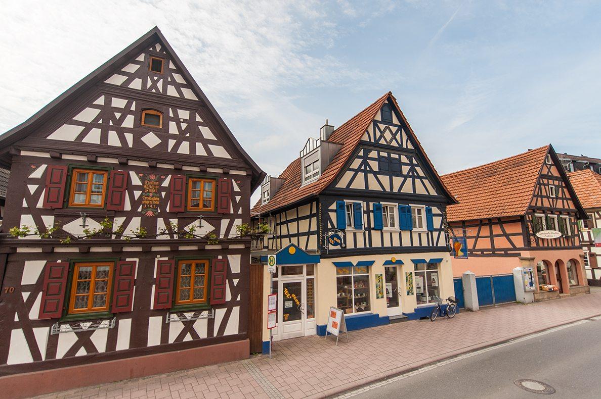 Historische Fachwerkhäuser Kandel.