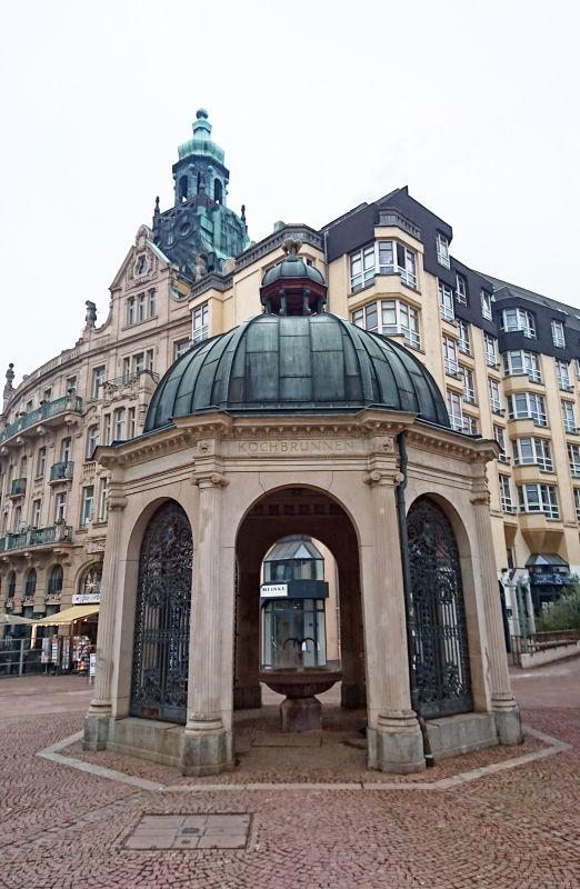 Kochbrunnenspringer Wiesbaden