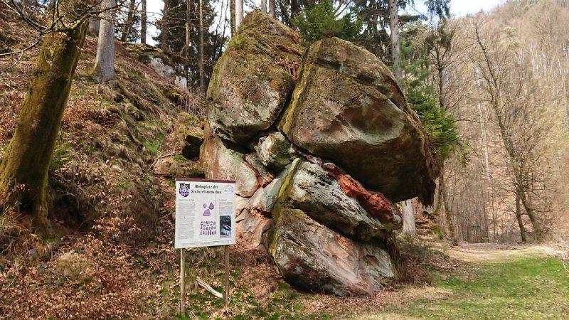 Wohnplatz der Steinzeitmenschen bei Schmitshausen