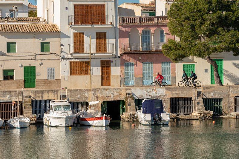 Historischer Hafen von Porto Colom