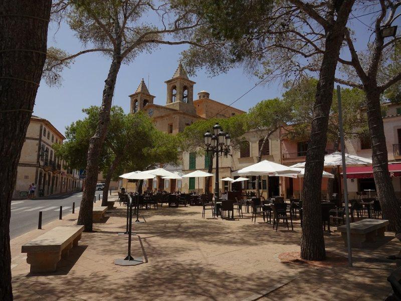 Marktplatz S'Alqueria Blanca