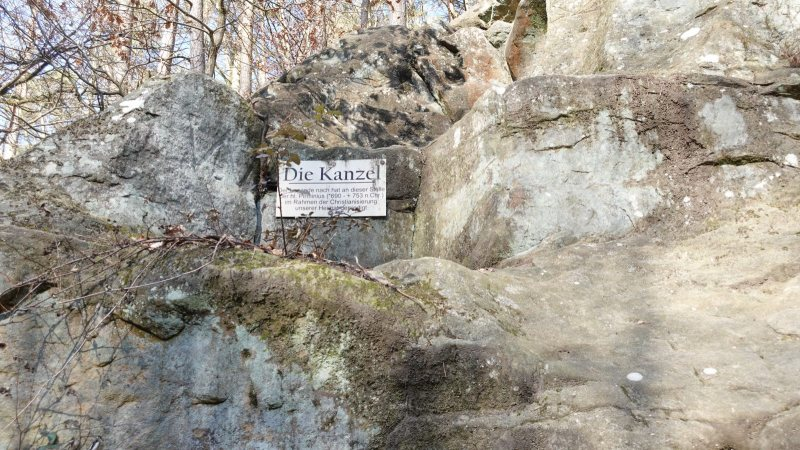 Kanzel bei Bierbach