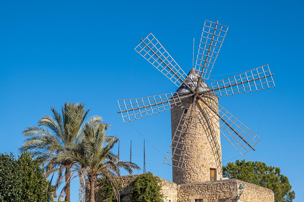 Windmühle Molí d'en Pau (Sineu)