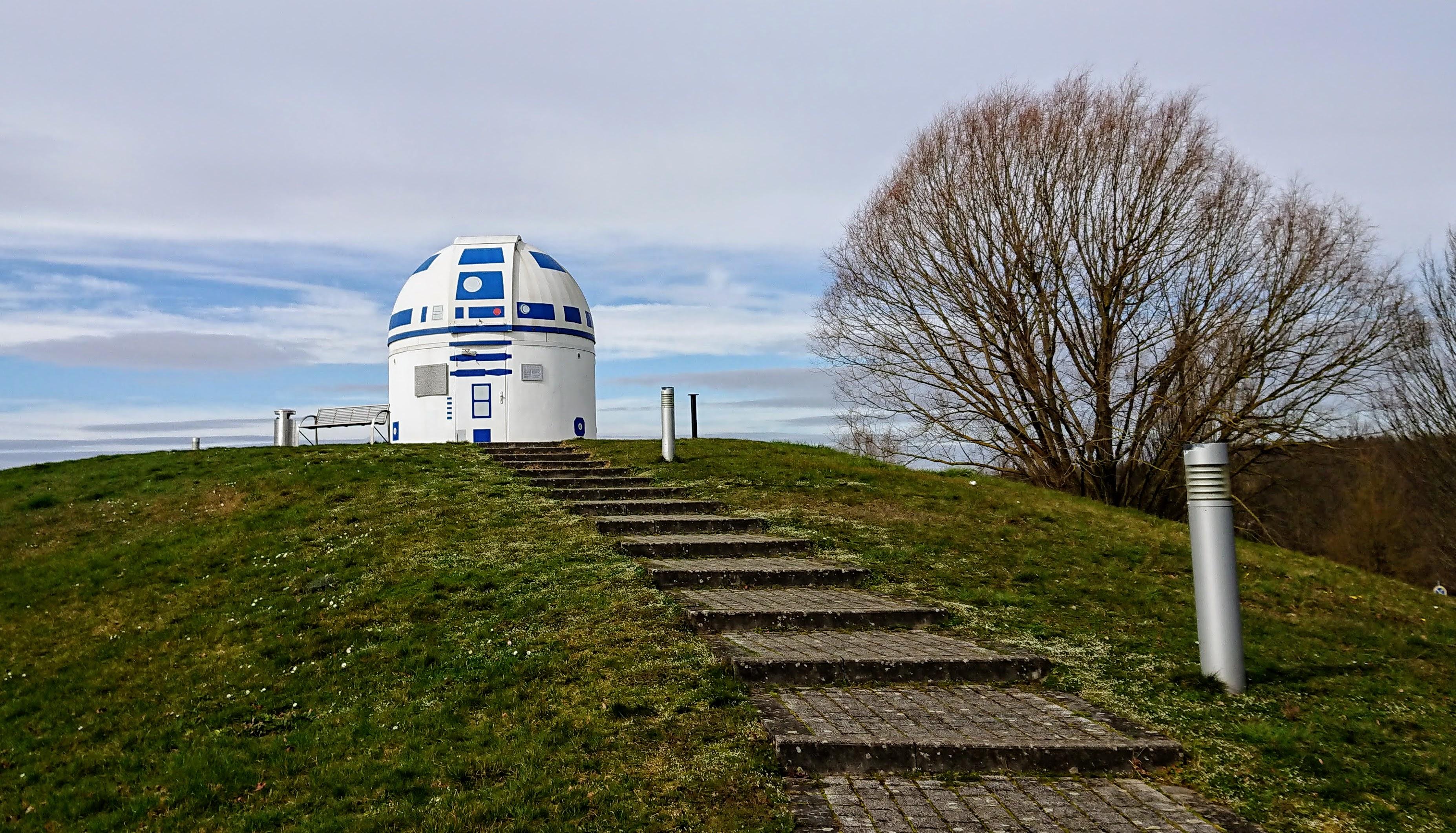 R2-D2 Sternwarte Zweibrücken