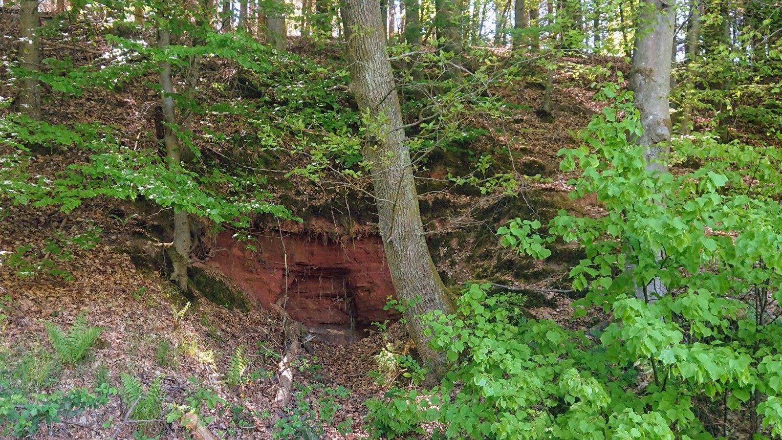 Felsenkeller der ehem. Krumm-Mühle